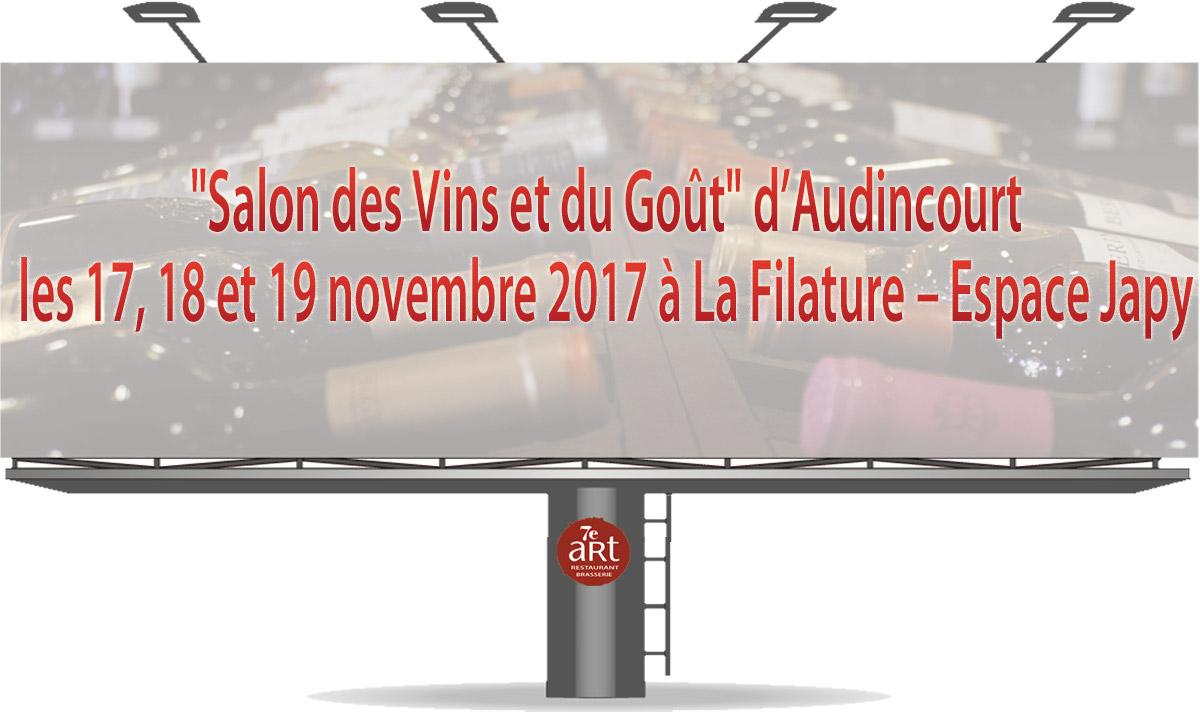 Salon des Vins et du Goût d'Audincourt 2017