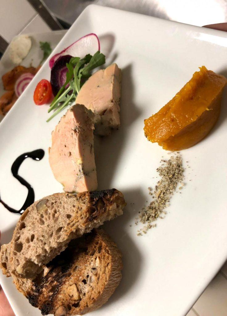 Foie gras de canard préparé par nos soins