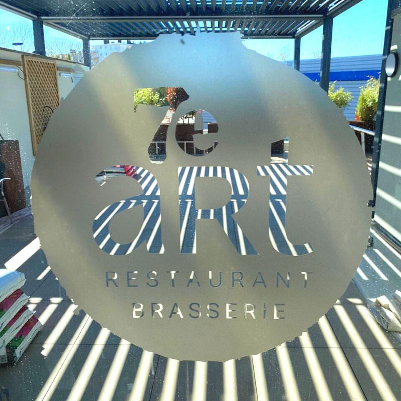 Ouverture et nouvelle terrasse au restaurant 7e art à Audincourt